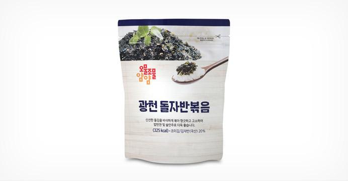 오물조물 광천돌자반볶음 김자반 40Gx10봉