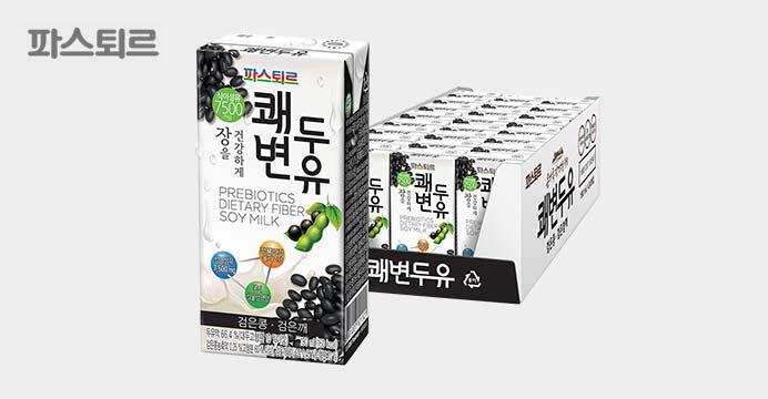 파스퇴르 쾌변두유 검은콩 190mlx48팩