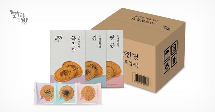 [화과방] 우리쌀전병 3종 18개입