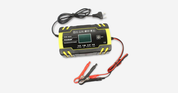 Foxsur 펄스 자동차 배터리 충전기