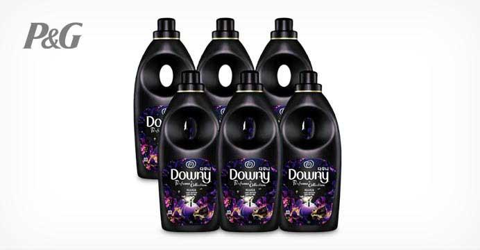 다우니 퍼퓸 섬유유연제 미스티크 6개