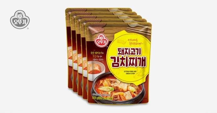 오뚜기 돼지고기김치찌개 5개