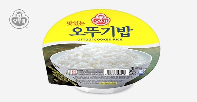 맛있는 오뚜기밥 210G X 24개(1박스)
