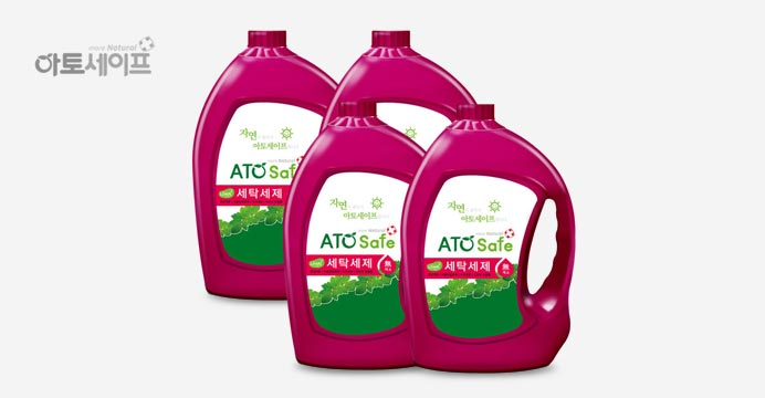아토세이프 세탁세제 (3.1L 4개)
