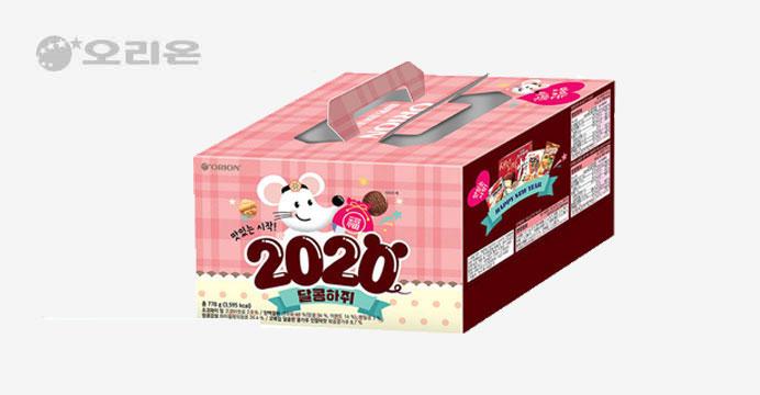 오리온 2020 달콩하쥐 과자세트 778g