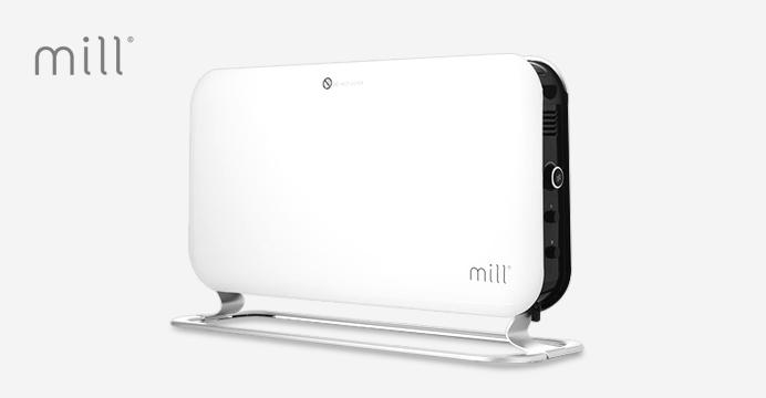 밀 컨벡터 히터 1200EK 타이머형 온풍기