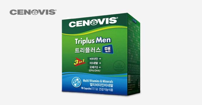 세노비스 남성 트리플러스맨 멀티비타민