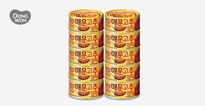 동원 매운 고추참치 100g 10캔