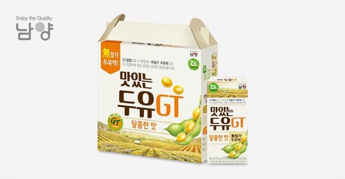 맛있는두유GT 달콤/담백 64팩