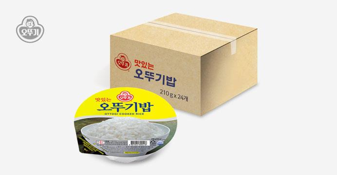 오뚜기밥 210g x 24개(1박스)