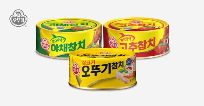 오뚜기 참치/야채/고추 150g 12캔