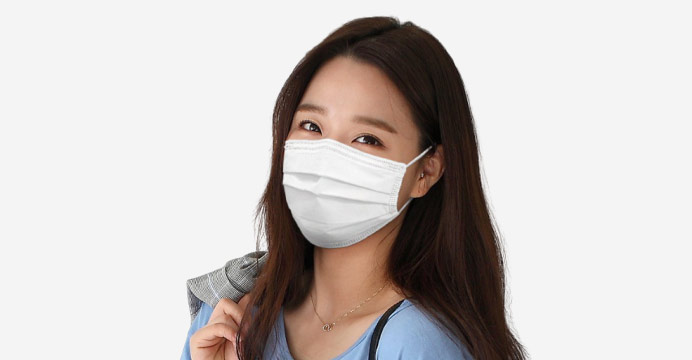 국내배송 3중필터 마스크 50매