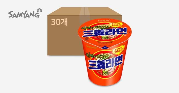 삼양라면 컵 65g 30개 (1박스)