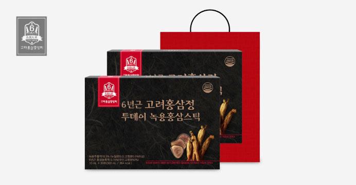 고려홍삼중앙회 투데이 녹용홍삼스틱1+1