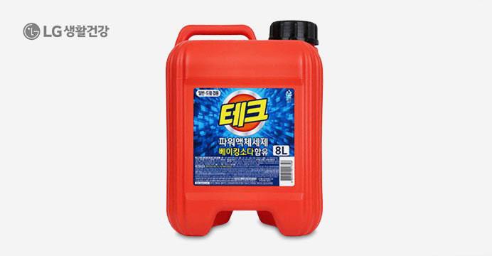 테크 파워 액체세제 8L /쿠폰가 8,200원