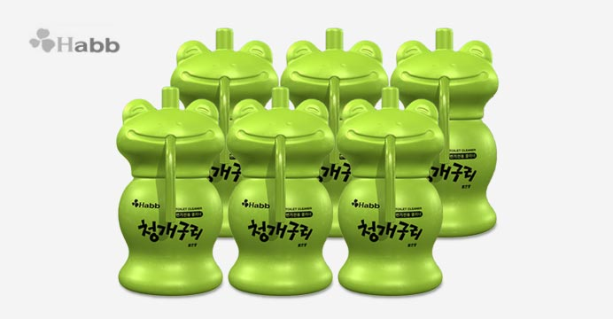 하비비 NEW 청개구리 클리너6개 (12개월사용)