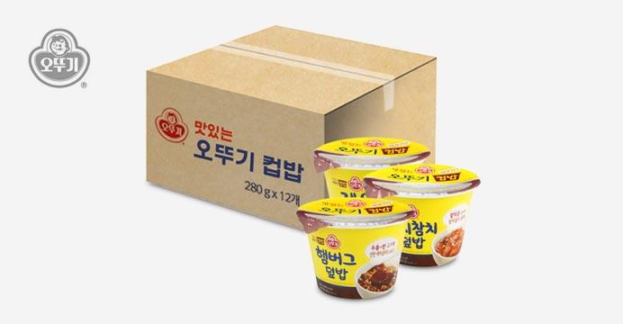 오뚜기 맛있는 컵밥/국밥 1박스