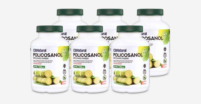 쿠바산 사탕수수 폴리코사놀 40mg 5+1