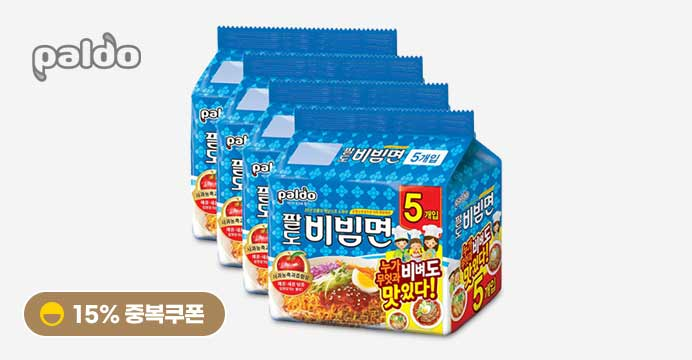 [15%쿠폰] 팔도 비빔면 130g x 20봉