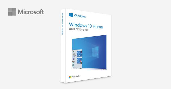 마이크로소포트 정품 윈도우10 Home