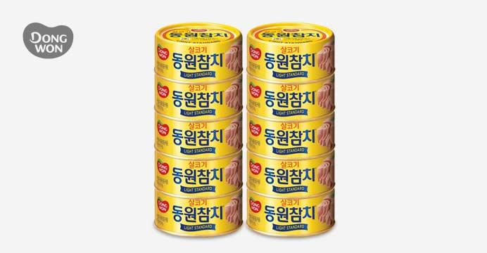 동원 라이트스탠다드참치 150g x10캔