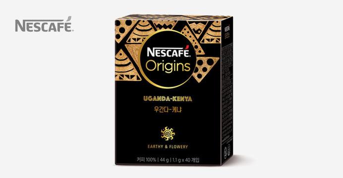 네스카페 오리진스 우간다-케냐 40T