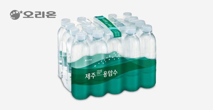 [생수전문배송] 오리온 제주용암수 530ml 20펫