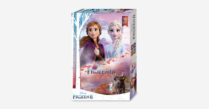 단독)디즈니 겨울왕국 2 눈꽃속여행 100pcs퍼즐